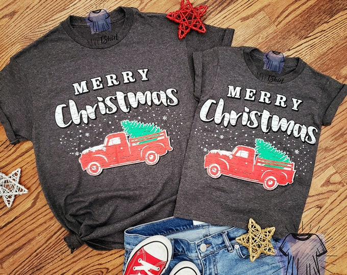 Featured listing image: Merry Christmas Tree Truck