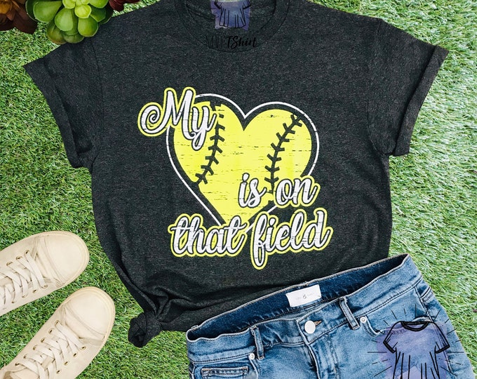 Softball - My Heart is On That Field