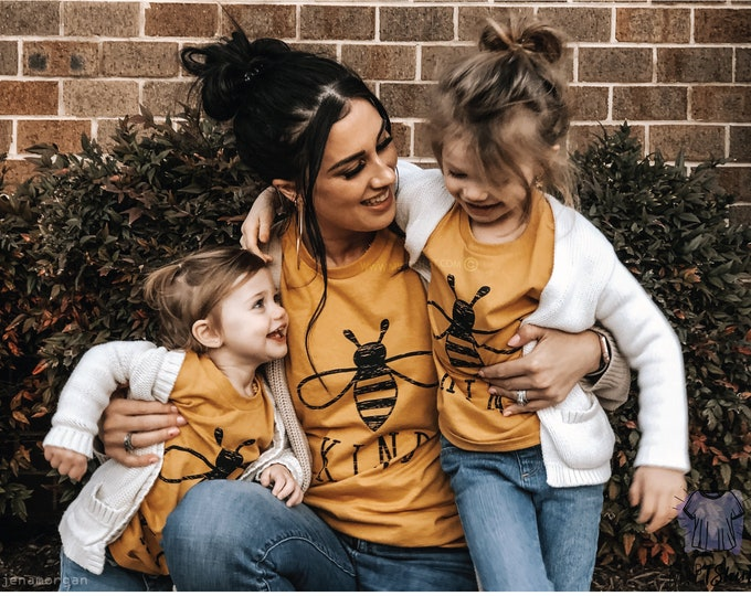 Featured listing image: Bee Kind - Mommy and Me