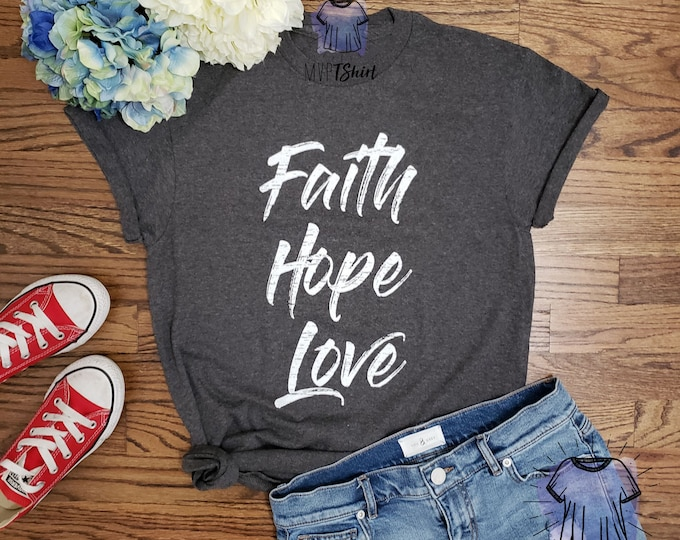 Faith Hope Love Vintage