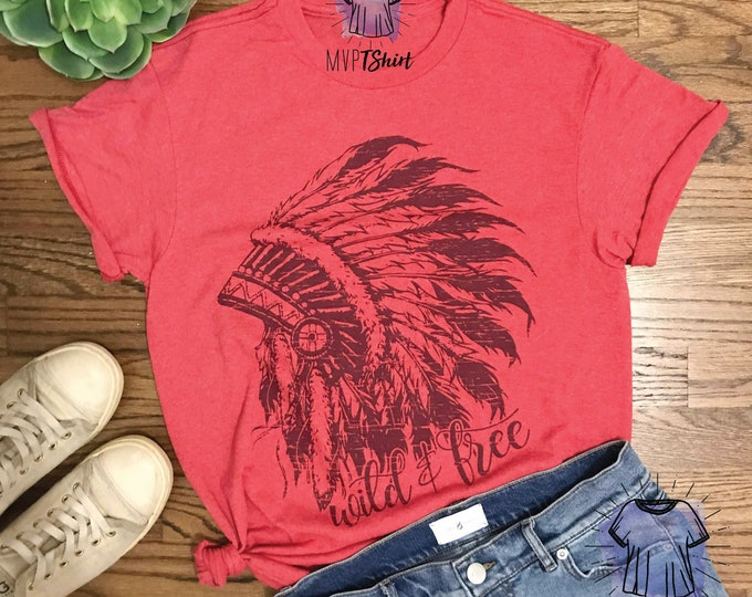 Wild and Free Indian Headdress