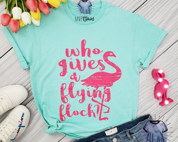 Featured listing image: Who Gives a Flying Flock Flamingo