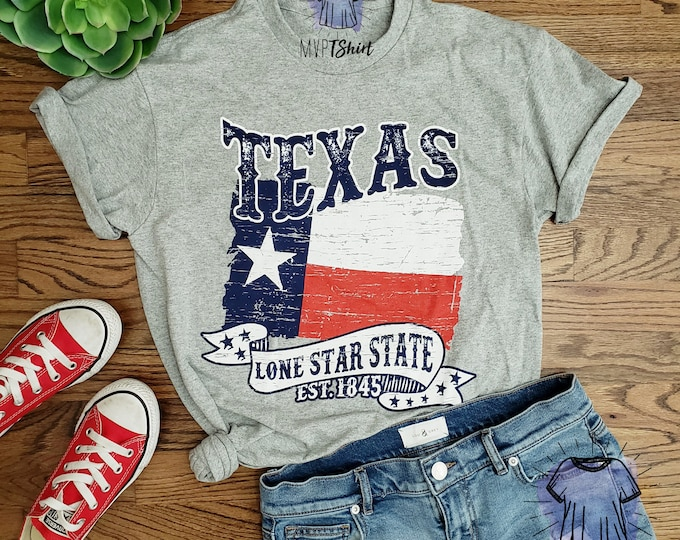 Texas Lone Star State Est. 1845