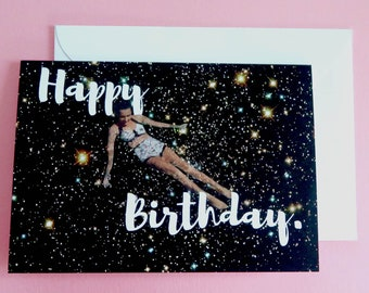 Happy birthday card, happy birthday card for her,  Greeting Card, Happy Birthday card for Mum, Female birthday card, cute card