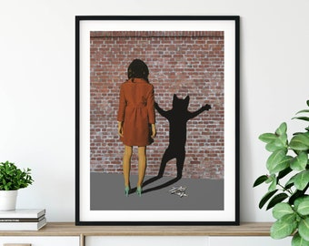 Cat prints, Cat lovers gift, Cat lady,  Large wall art, Extra large wall art, Large print, Wall art prints, Large prints