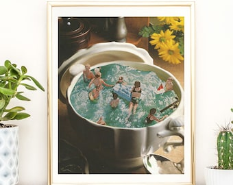 Food Print - Kitchen Wall Art - Prints - Poster
