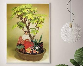 Prints wall art, Botanical poster, Plant mom gift,