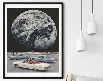 Earth print, Nasa Earth, Earth Poster Wall Art, Home Print, Nordic Print, Modern Wall Art