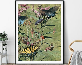 Butterfly nature print,  Large wall art, Extra large wall art, Large print, Wall art prints, Large prints