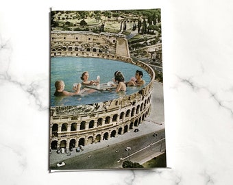 Greeting card UK - Rome Italy card - Happy birthday card - Thank you card - Travel card