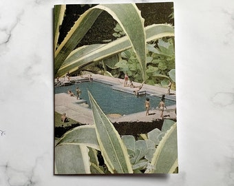 Plant note cards,,plant lover cards, Floral A6 card - Botanical - Any Occasion - Blank Inside