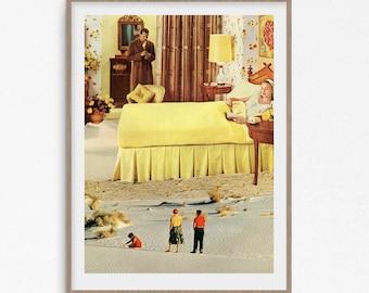 Yellow Wall Art print - A3 print - A2 prints