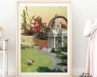 Botanical prints, plant print, Plants prints, Indoor plants wall art, garden art, garden gift, botanical art