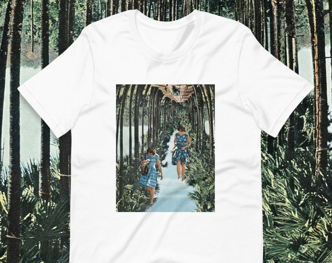 Featured listing image: Palm tree summer tee - Short-Sleeve Unisex T-Shirt - Cute graphic tee for her or him