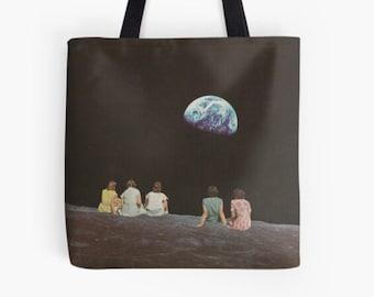 Outsiders tote bag , Medium shopping bag, Reusable bag, Gym, work etc