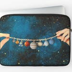 Solar System - Laptop Sleeve - MacBook Pro Case - MacBook laptop sleeve -  Laptop Bag - Laptop Case - MacBook case - gift for her - universe