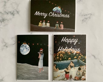 Pack of 9 Christmas cards 2020