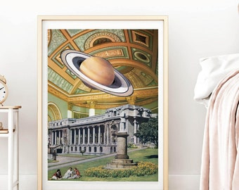 Architecture print, Beige wall art, Neutral prints, Nature art poster