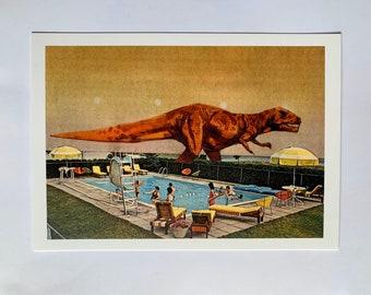 Dinosaur Print UK - Nursery - A5 print