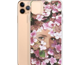 Pink iPhone Case, Girly iphone cases, Cherry blossom art phone cover, iphone 8, Iphone pro, Iphone 11, Iphone 12