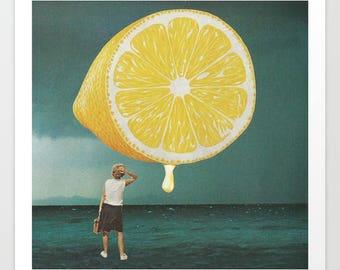 Lemon Print - Lemons Art Prints - Posters