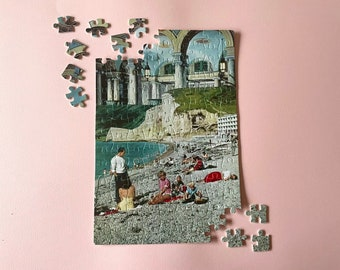 Art jigsaw puzzle - Perfect Christmas or birthday gift - A4 size - Holiday