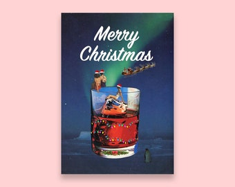 Christmas card UK - Xmas card for best friends