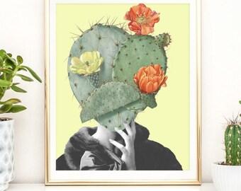 Cactus print - Cactus Prints, Cacti, Succulent Print, Botanical Art, Cactus Print, Wall Art, Desert Wall Art, Prints, Poster, Cactus Photo