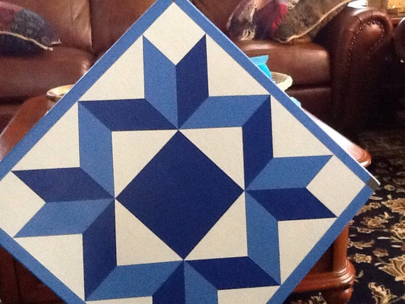 Simple But Beautiful Pattern For A Barn Quilt Pick Your