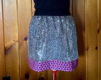 Phish Silver Glitterdot Skirt - Made to Order