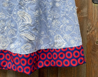 Phish Embroidered Floral Skirt - Fishman - XL/ XXL