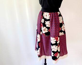 Phish Skirt - Midi Fishman Patchwork Skirt