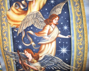 Angels  Starry Sky Quilt Wall Hanging