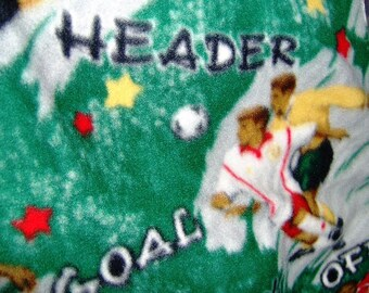 Soccer Fleece Throw World Cup