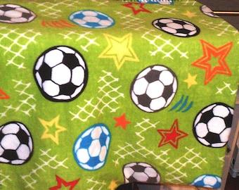 Soccer Fleece Throw World Cup FIFA