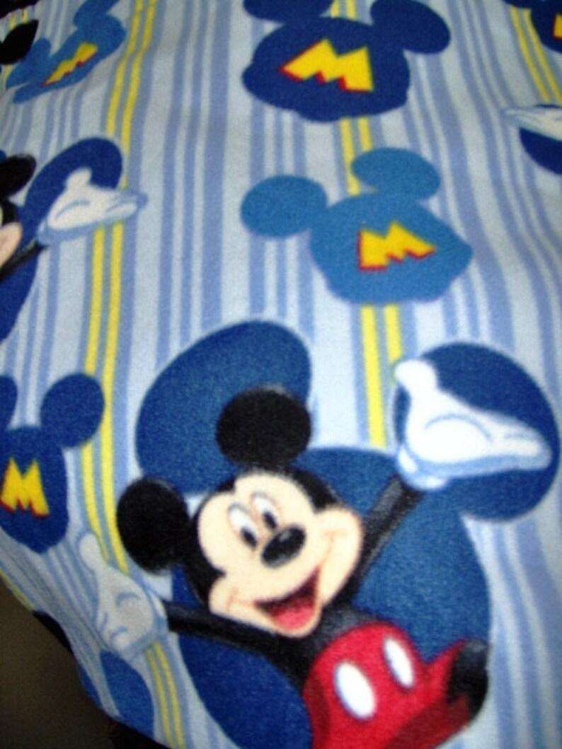 Mickey Mouse Fleece Throw Blanket FREE SHIPPING