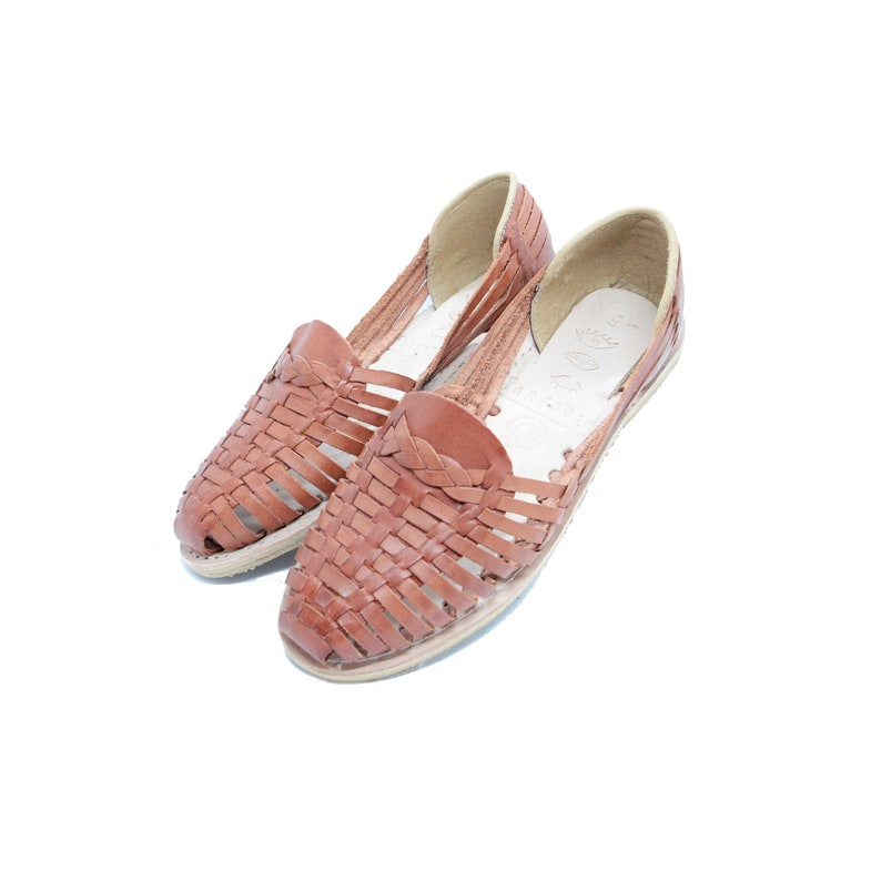 Parpadeo Handmade Mexican Leather Women s Huaraches    b950d11ab