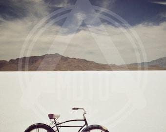 Photo - Bonneville Salt Flats Schwinn