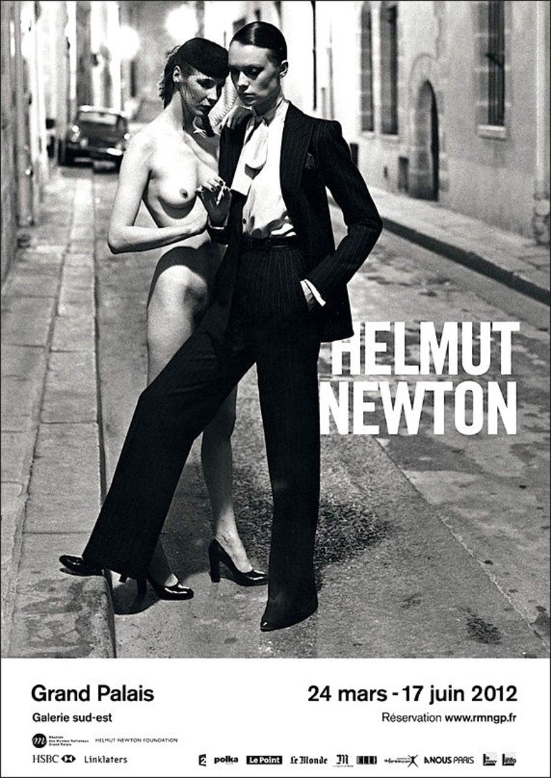 helmut newton foundation poster
