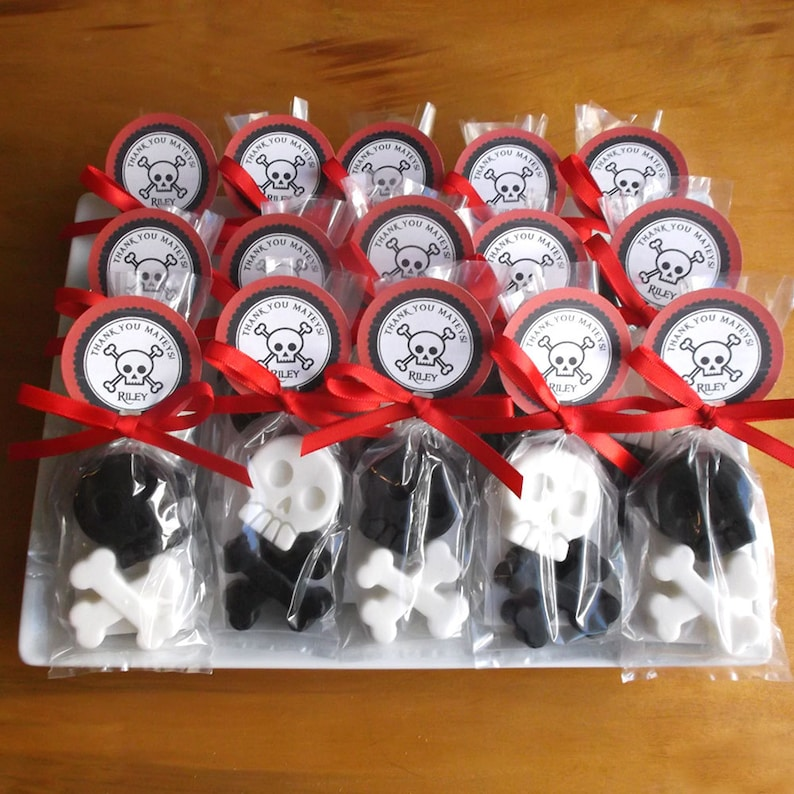 Pirate Party Favors  Pirate Party Pirate Favors Skull & image 0