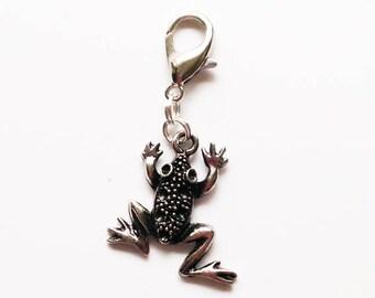 Frog Stitch Marker/Bag Charm/Dangle CharmMini Stitch Marker Holder or Stitch Marker
