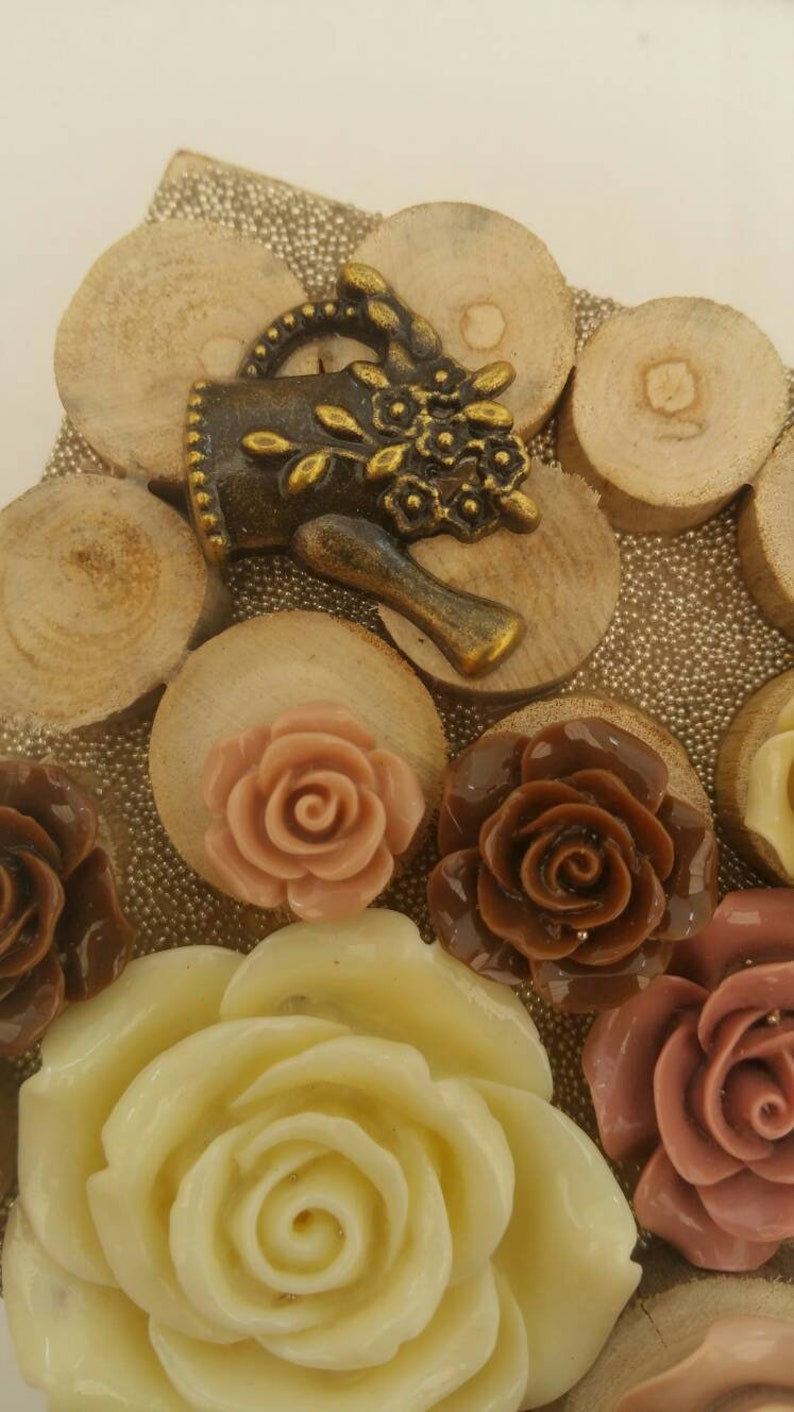 Wooden Decorative box handmade jewellery jewelry box bumblebee gift gardeners gift unique flower gift
