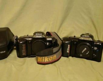 2 Cameras Nikon N4004 AF and Nikon N4004s AF
