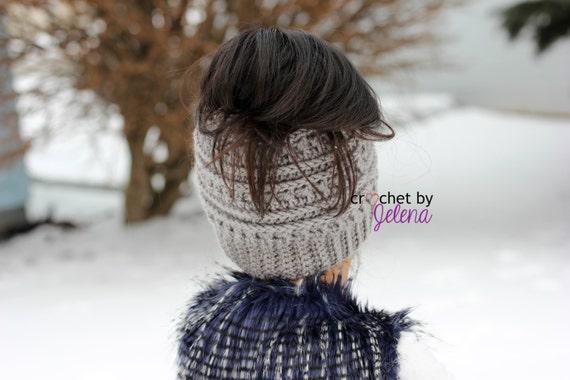 Katniss Messy Bun Hat  1dff4618f55