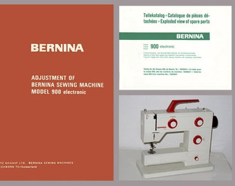 Bernina etsy vintage bernina 900 nova electronic sewing machine service manual spare parts book pdf download fandeluxe Gallery