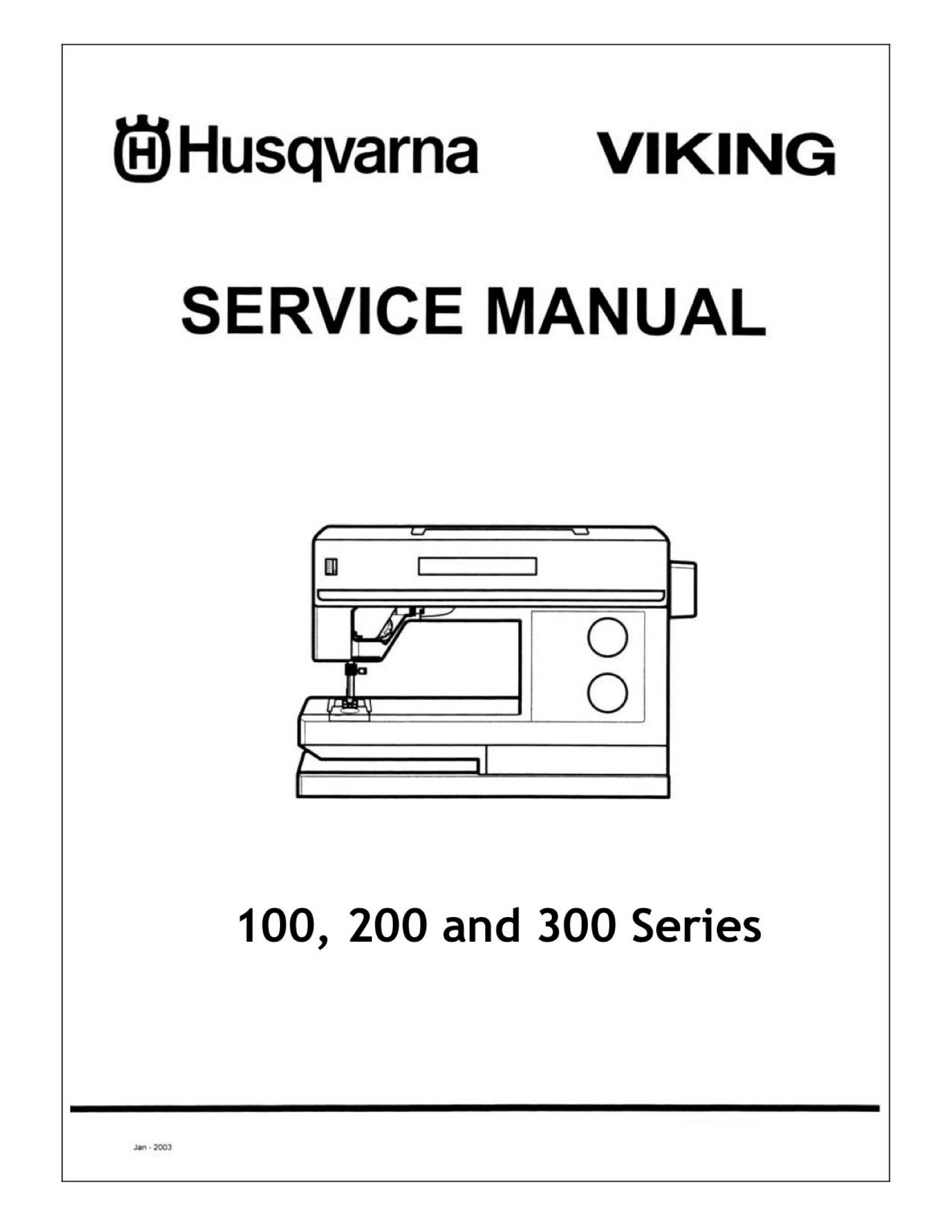 Husqvarna Viking 205, 210, 225, 230, 250 Daisy 310 315 320-335 Prelude 340  360 Service / Repair manuai