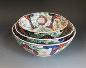 Japanese Porcelain Imari Bowls - JR3JL227