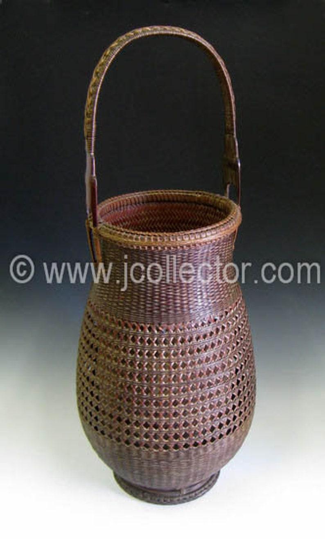 Japanese Bamboo Basket for Ikebana  JJ991011 image 0
