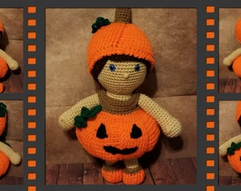 Pookie and Pals Pumpkin Costume crochet pattern