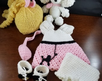 Petey's 50's Poodle Skirt crochet pattern